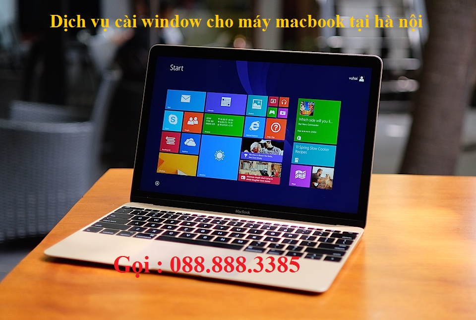 dịch vụ cài win cho macbook